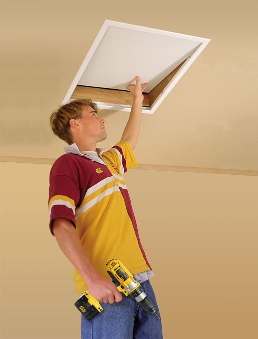 The Hatch Pre Finished Ceiling Hatch To Access Attic Or Roof Space